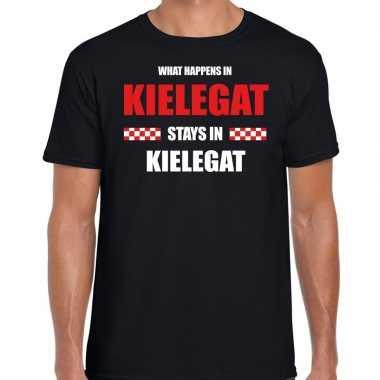 Breda/kielegat carnaval outfit / t- shirt zwart heren