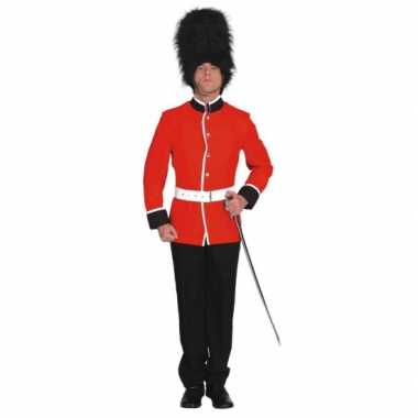 Britse soldaat carnavals kostuum