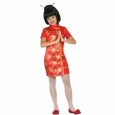 Carnaval chinees kostuum meisjes