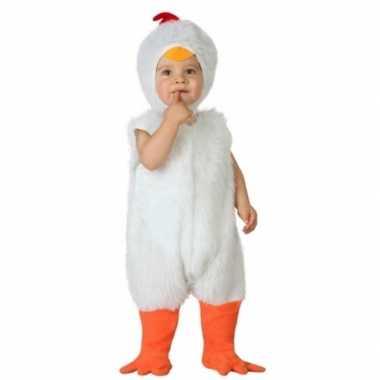 Carnaval kippen kostuum peuters
