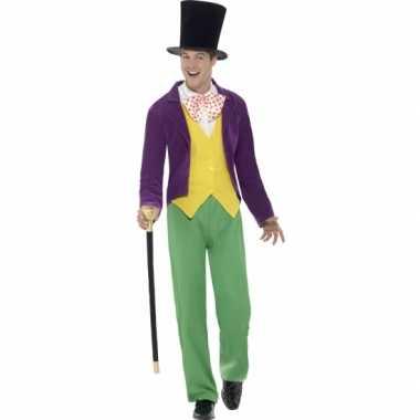 Carnavalkleding willy wonka kostuum