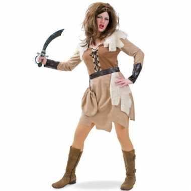 Carnavals viking jurkje dames