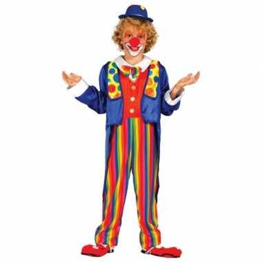 Carnavalskleding clown kostuum voor kinderen