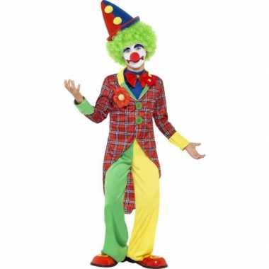 Carnavalskleding clown outfit