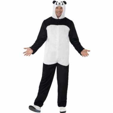 Carnavalskleding panda kostuum