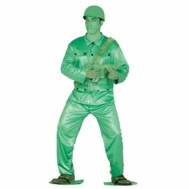Carnavalspak plastic soldaatje