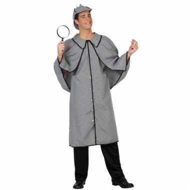 Detective verkleedkleding voor heren