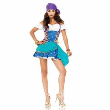 Gypsy verkleedjurkje met bandana