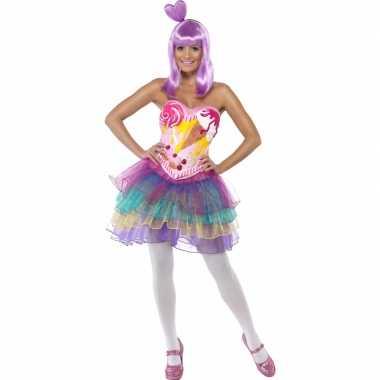 Snoepjes carnavalskostuum dames