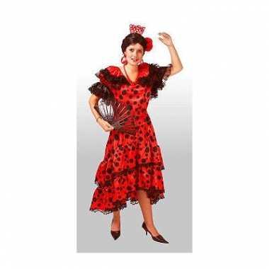 Spaans carnavals jurk voor dames